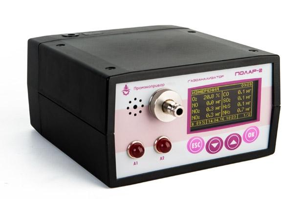Переносной многокомпонентный газоанализатор «Полар-2»