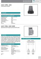 Модуль реле ACCREL020 (каталог на русском)